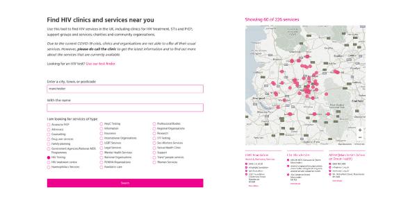 services finder