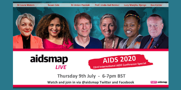 aidsmapLIVE: AIDS 2020 special