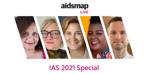 aidsmapLIVE: especial IAS 2021
