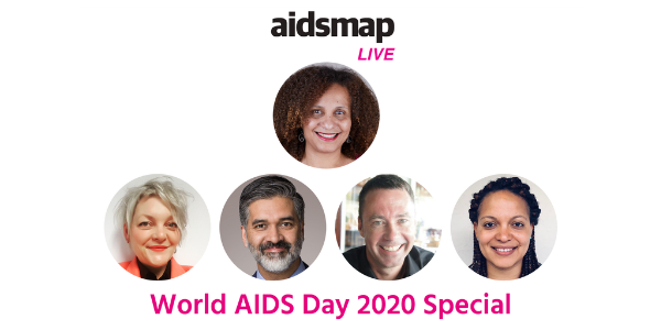 aidsmapLIVE: World AIDS Day 2020 Special