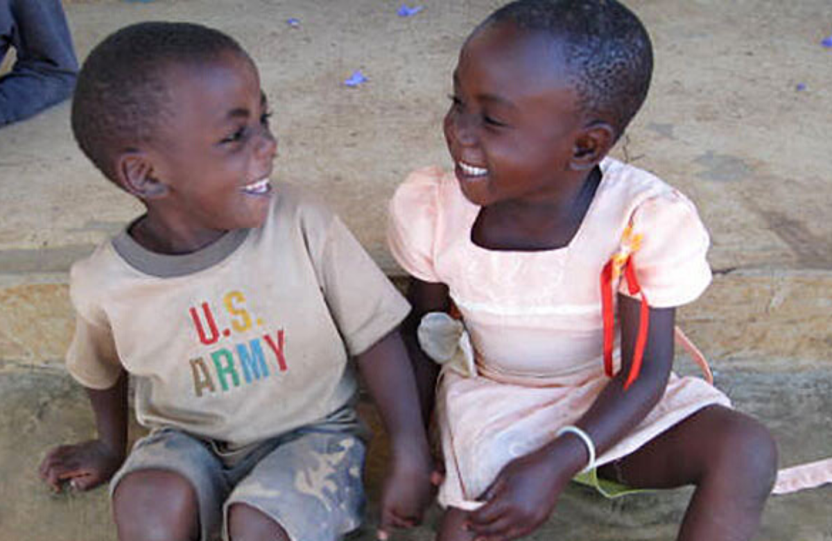 Children of HIV-positive mothers