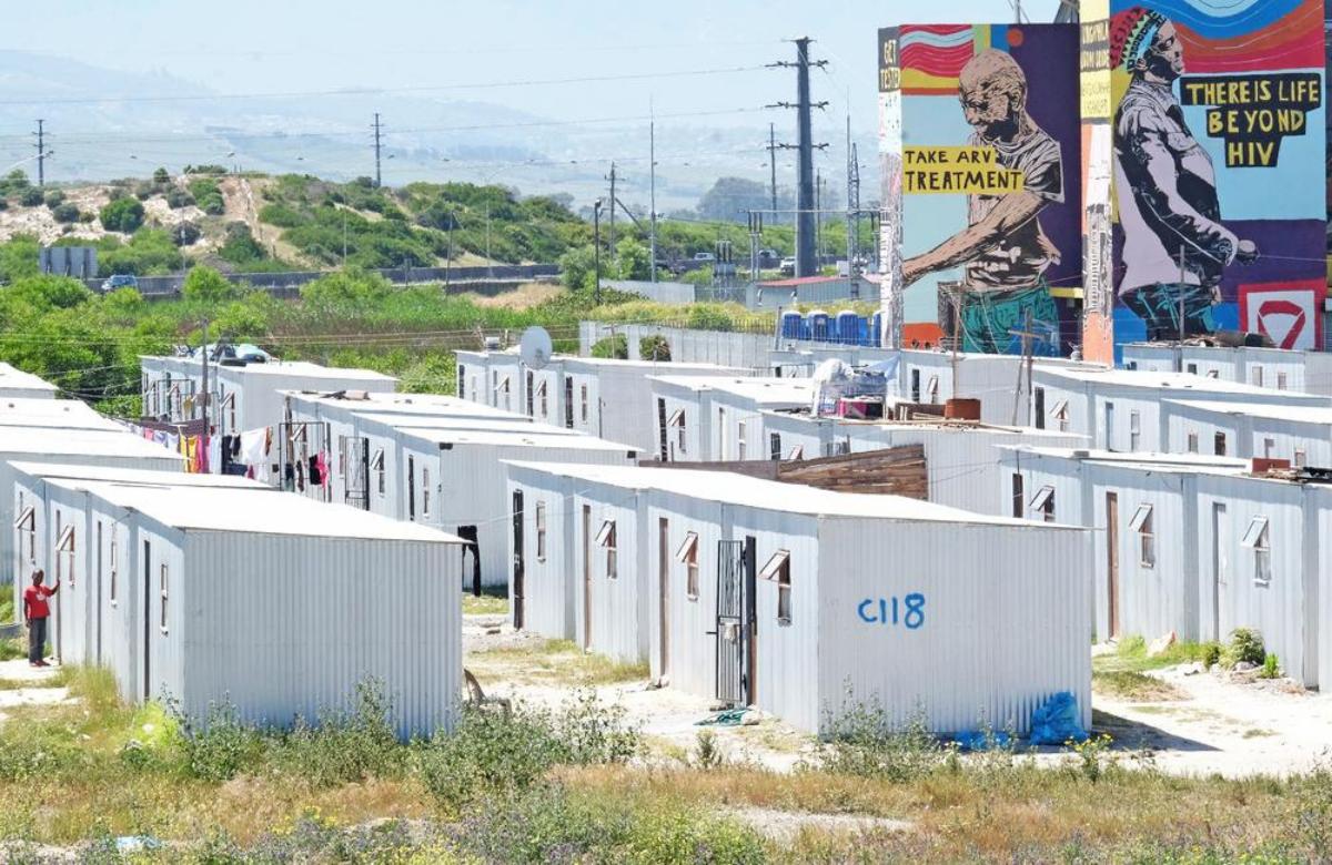 Khayelitsha, Ciudad del Cabo (Sudáfrica). Fotógrafía: Rowan Pybus, Médecins Sans Frontières.
