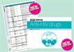 New editions: Anti-HIV drugs booklet & chart