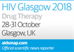 Coming soon: news from HIV Glasgow 2018