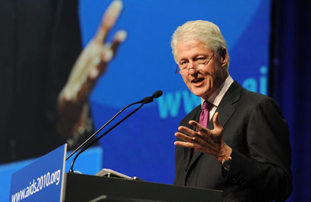 Clinton: it's the 'end of the beginning' of the AIDS epidemic   aidsmap