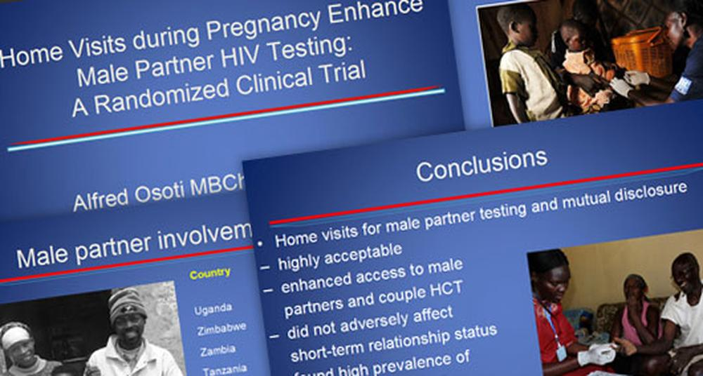How does pregnancy affect the male partner